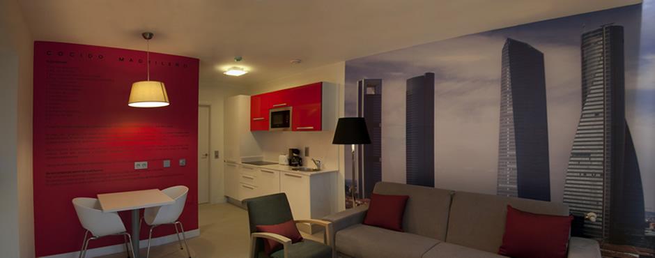Apartamentos Turísticos Las Vegas de Cardeo - Apartamento Madrid