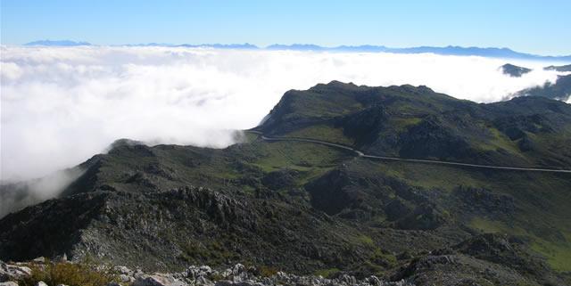 Rutas y senderos Sierra del Áramo