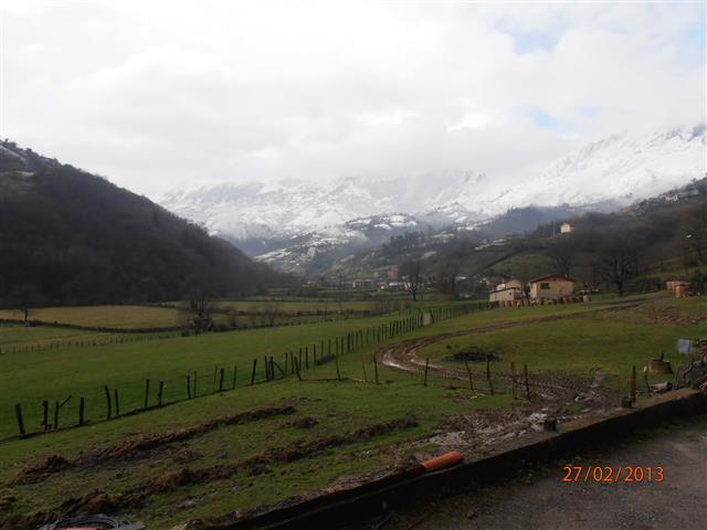 Invierno de 2013 en Morcín