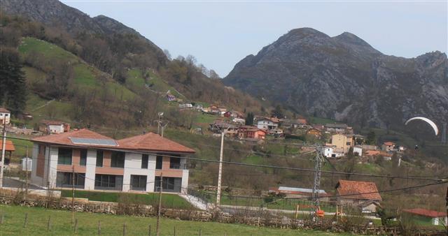 Vista Asturias desde parapente
